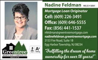 Nadie Feldman, Mortgage Loan Originator