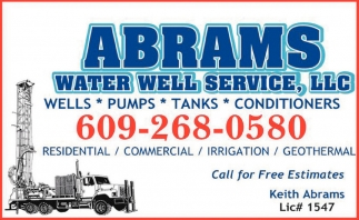 Wells - Pumps - Tanks