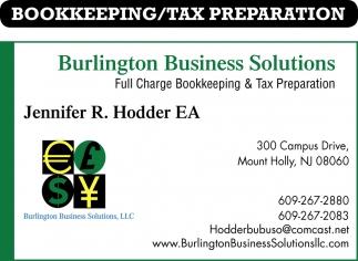 Full Chage Bookkeeping & Tax Preparation