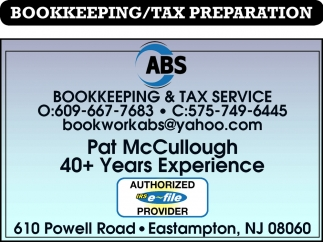 Bookkeeping & Tax Service