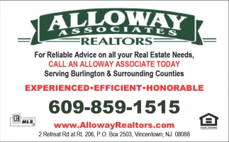 Call an alloway associate today