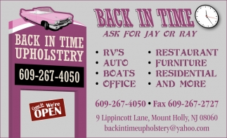 Ask for Jay or Ray
