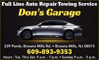 Full Line Auto Repair