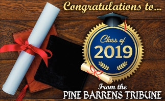 Congratulations to Class of 2019