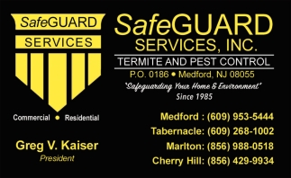 Termite and Pest Control